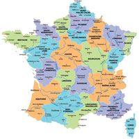 carte regions france